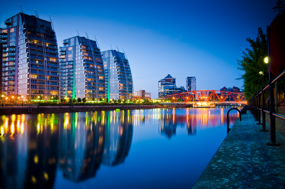Manchester residential property market growth